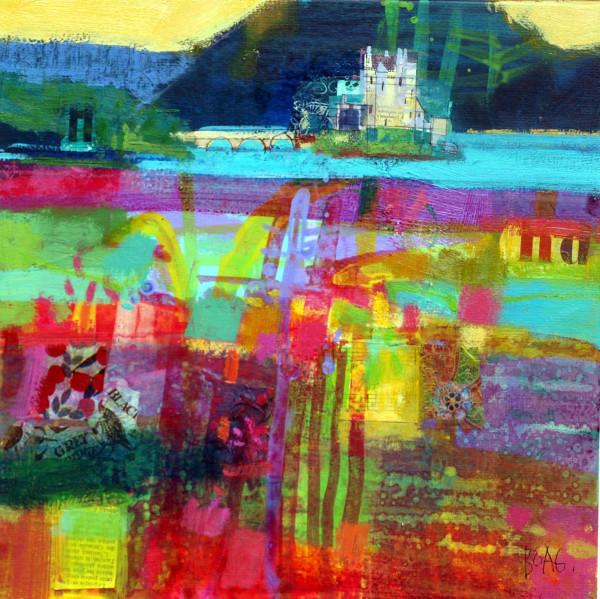 Eilean Donan castle by francis boag