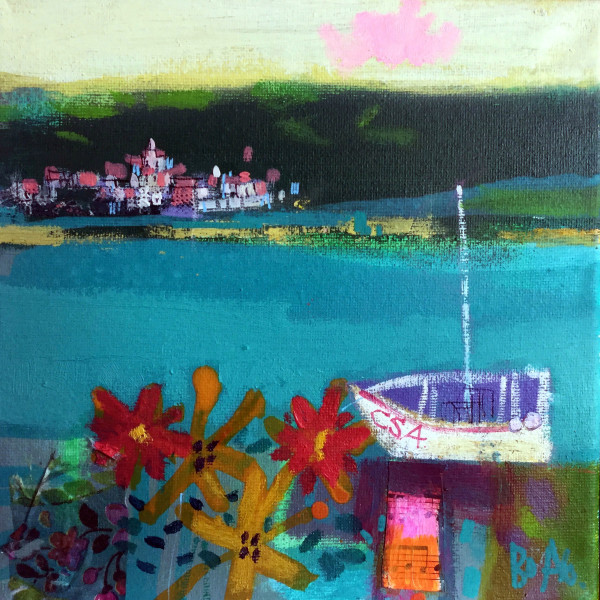 Boats Cadaques by francis boag