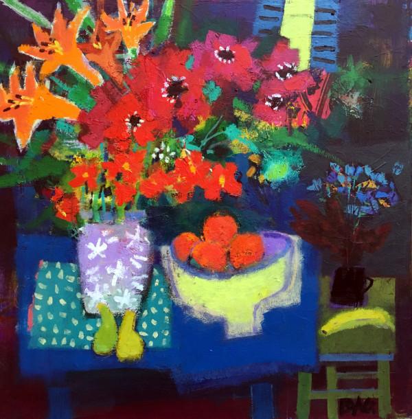 Summer flowers, San Pedro by francis boag