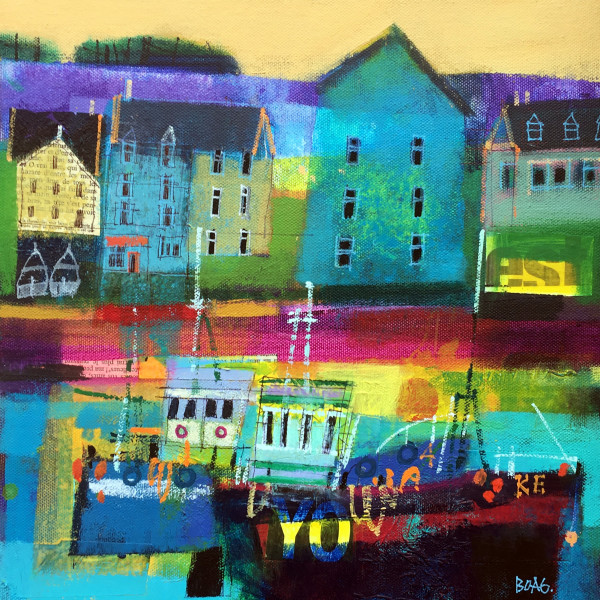Sunday morning, Kinsale by francis boag