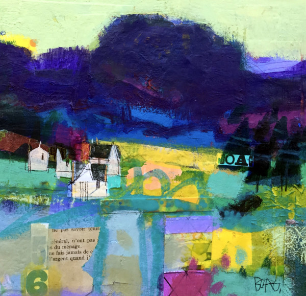 Cottages Glen Clova by francis boag