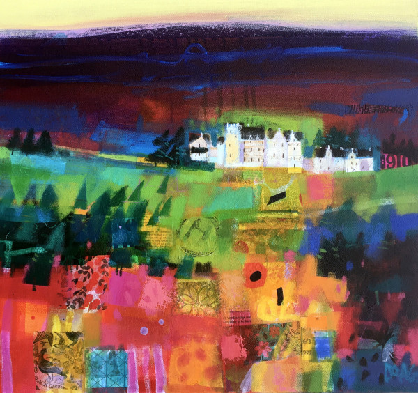 Blair Atholl morning by francis boag