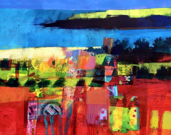Lunan Bay study1 by francis boag