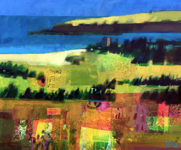 Lunan Bay by Arbroath by francis boag