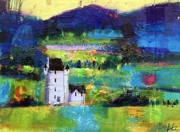 Forter Castle, Glen Isla by francis boag
