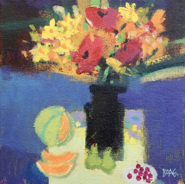 Fruit and flowers by francis boag