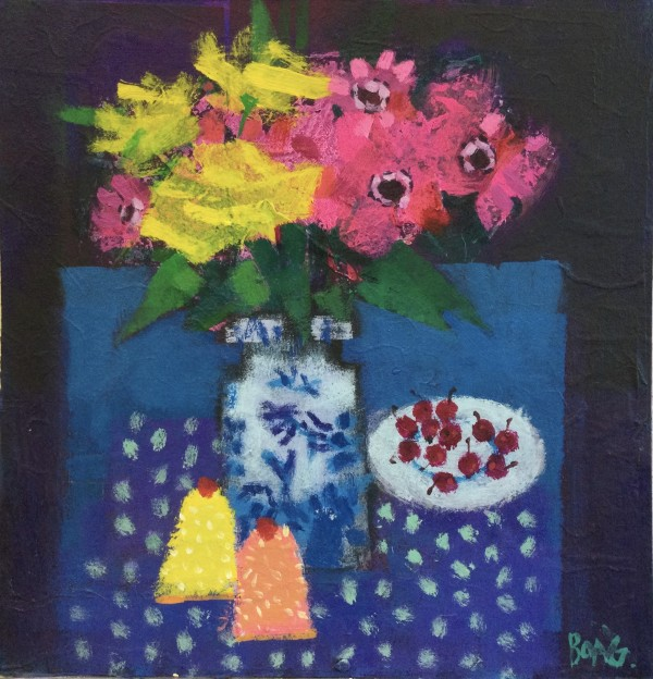 Blooms and cakes by francis boag