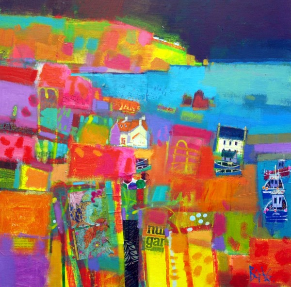 Harbour, St Abbs by francis boag