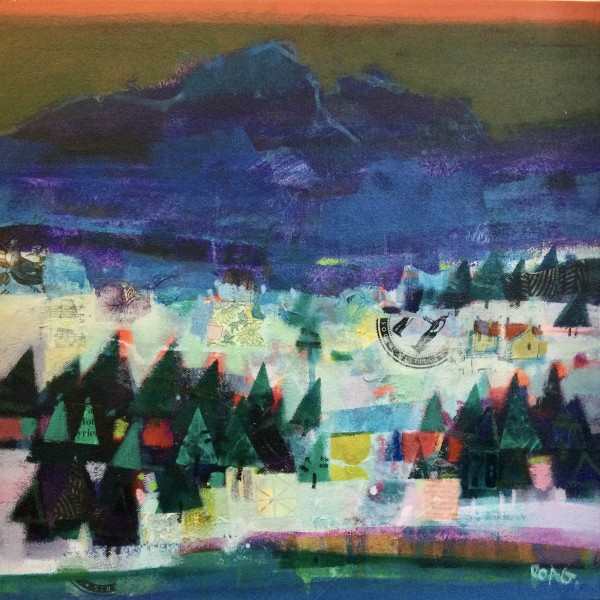 Winter, Torrin, Skye by francis boag