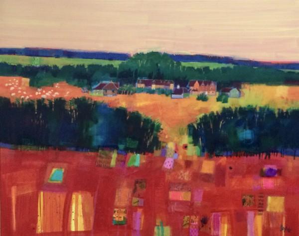 Bungehurst Farm by francis boag