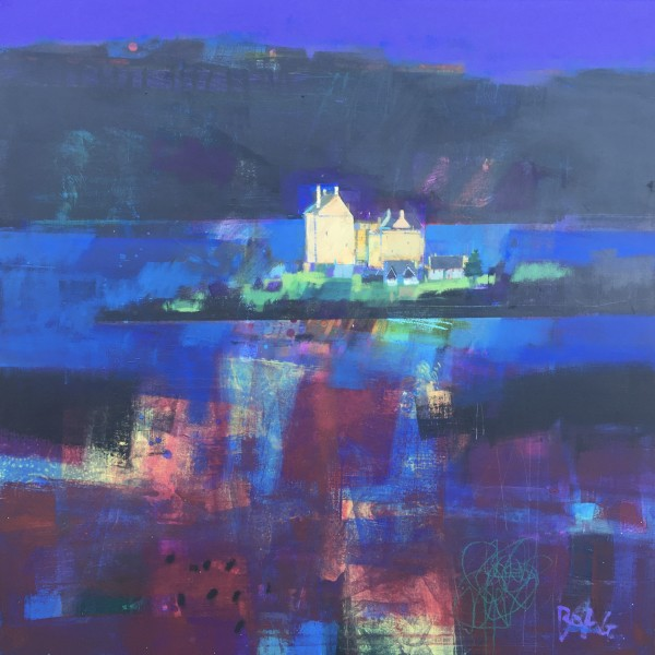 Duart Castle, Mull by francis boag
