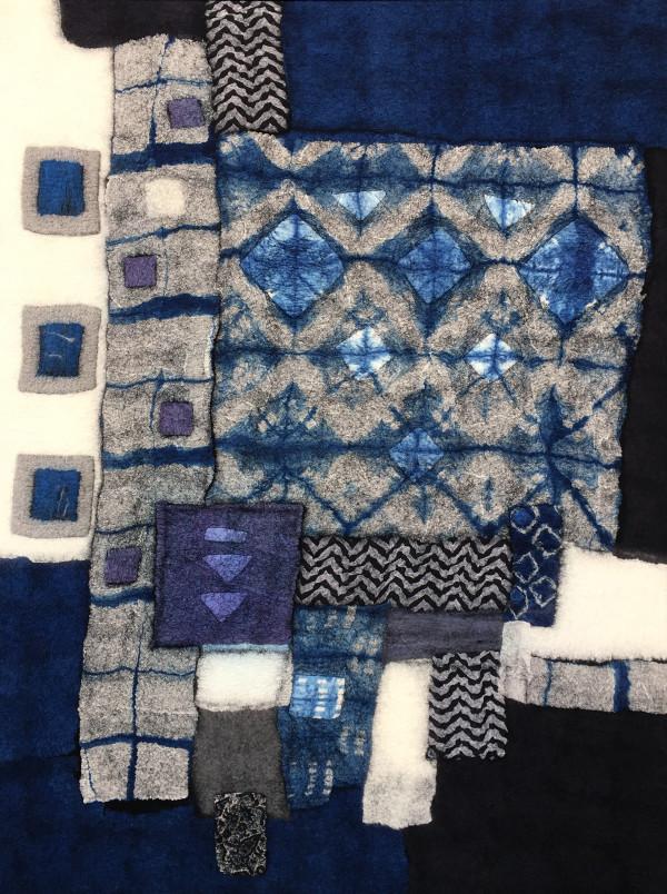 Black and Blue Boroscape II by Lisa Hinrichs