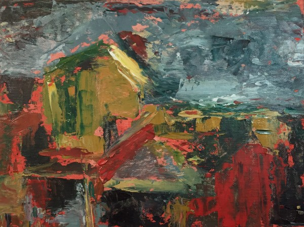 Rooftops of via Tomaso by Michelle Boerio