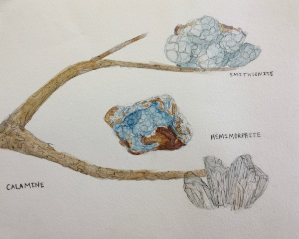 Smithsonite Family Tree by Michelle Boerio