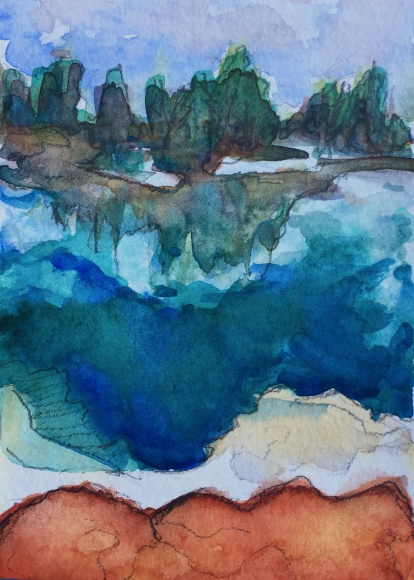 Yellowstone by Michelle Boerio