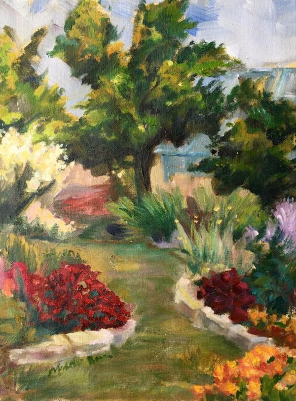 June in the Garden by Michelle Boerio