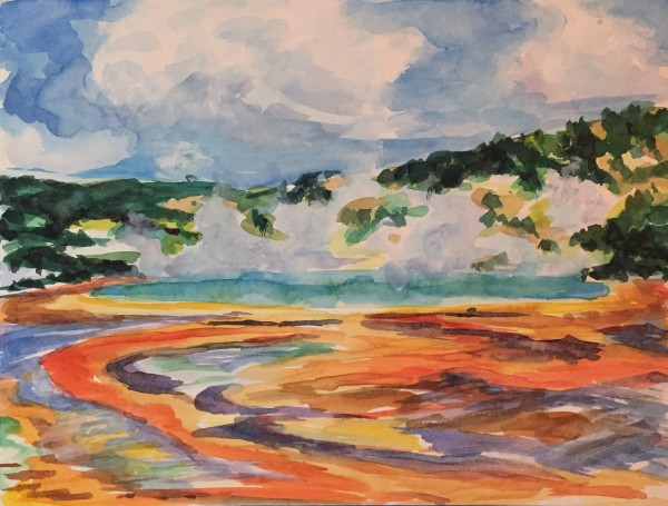 Geothermal Color by Michelle Boerio
