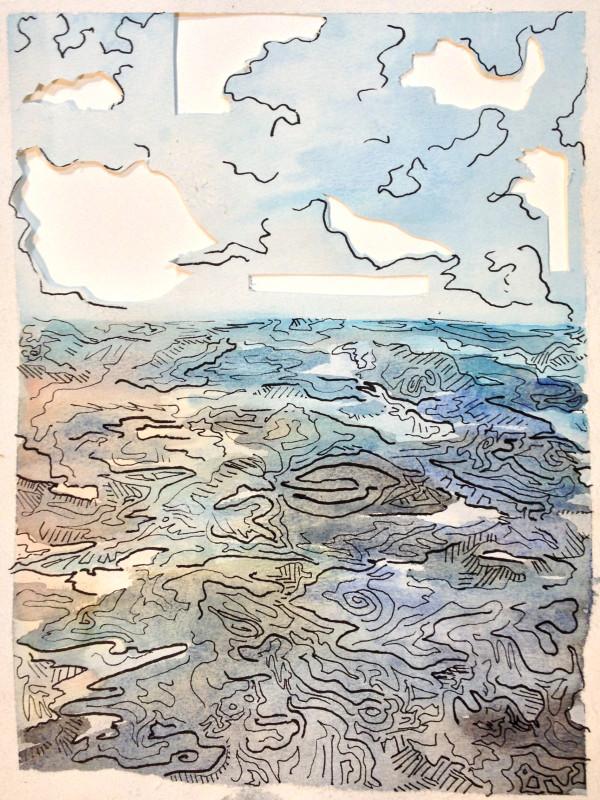 The Sea by Michelle Boerio
