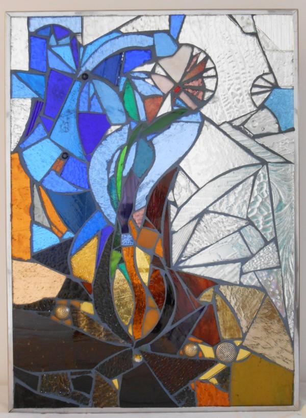 Tectonic Disruption (wine cabinet) by Andrea L Edmundson