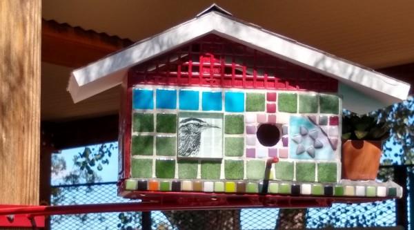 Bird Landia (bird house) by Andrea L Edmundson