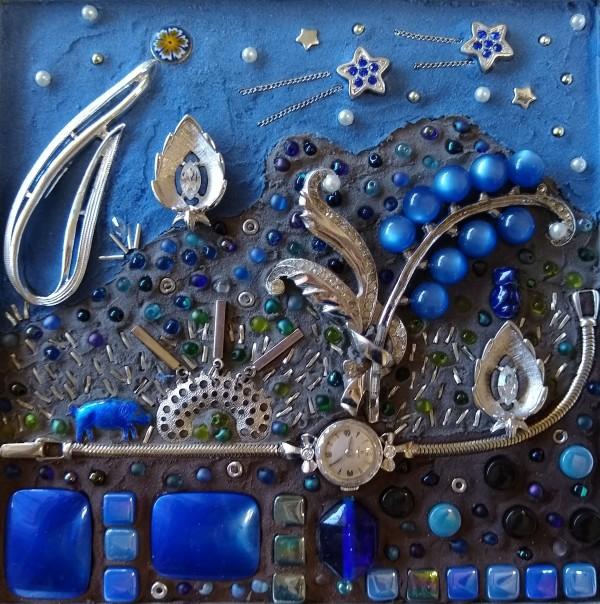 Blue Night Arizona by Andrea L Edmundson