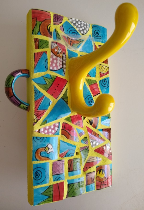 My Sunday Mug (wall hook) by Andrea L Edmundson