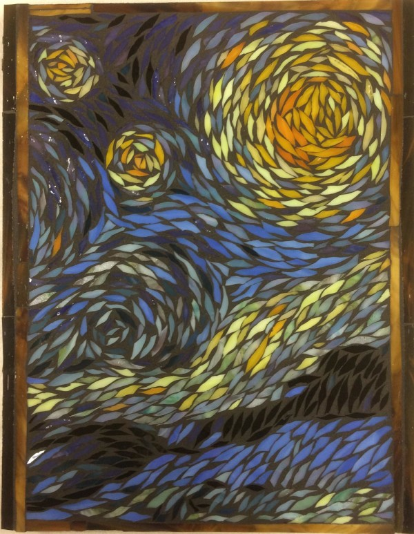 Starry Night Interpretation by Andrea L Edmundson