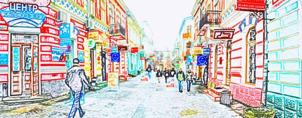 Ternopil, Ukraine in winter by Stefan Tur