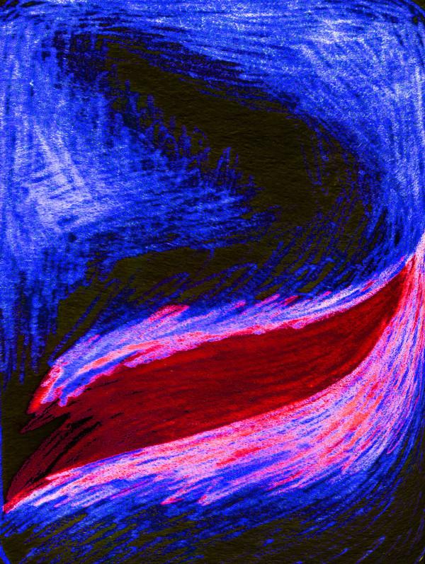 Red Swipe by Stefan Tur