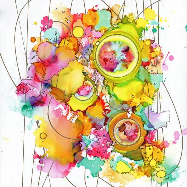 Cosmic Flowers by Dawn Johnson