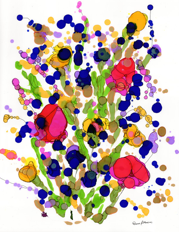 Integrated Bouquet by Dawn Johnson