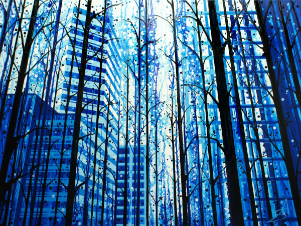Tree-lined (Toronto + Yosemite National Park)