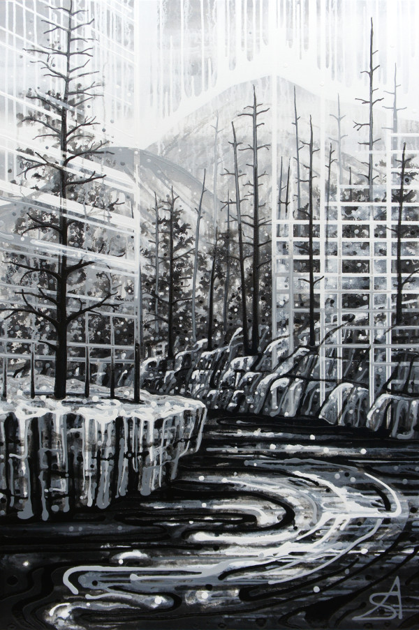 Ash Forest (Toronto + Kootenay National Park) by Amy Shackleton