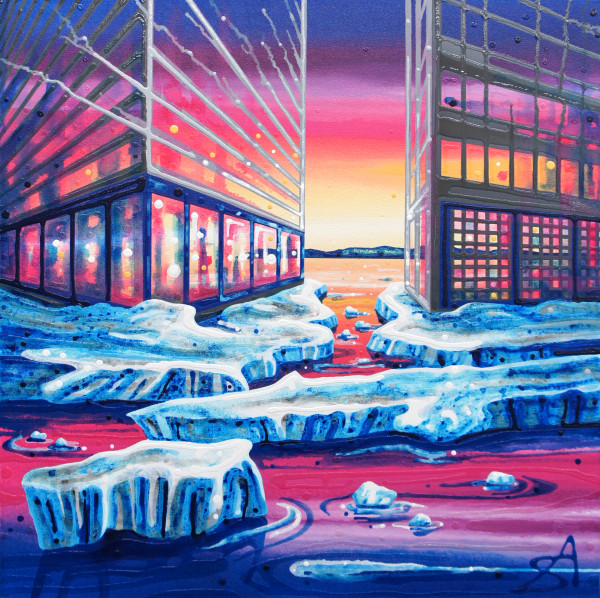 Shifting Ground (Iqaluit + Calgary) by Amy Shackleton
