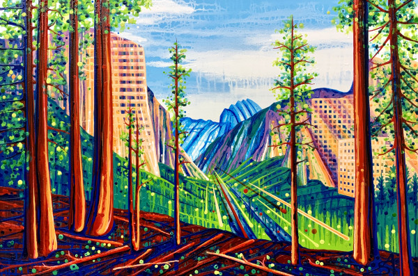 Set the Scene (Kansas City + Toronto + Yosemite NP + Sequoia NP) by Amy Shackleton