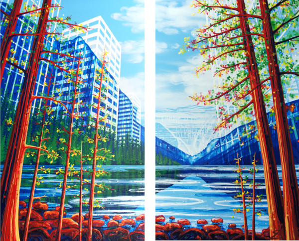 Grow Together (Vancouver + Lake Louise + Toronto) by Amy Shackleton