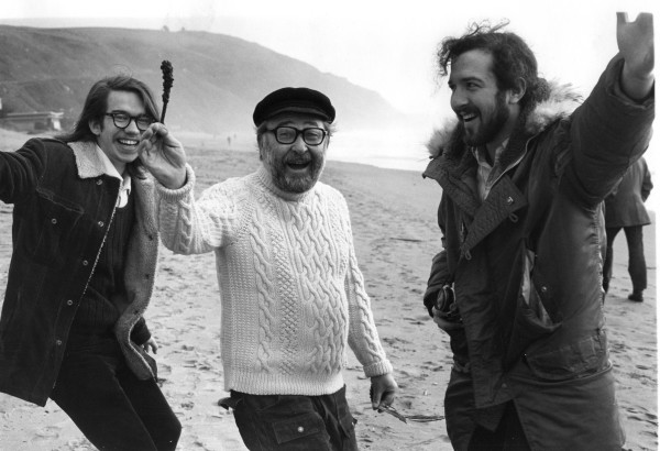 Brice Howard (NCET) with Dennis Hlynsky and Alan Powell 1974 by Alan Powell