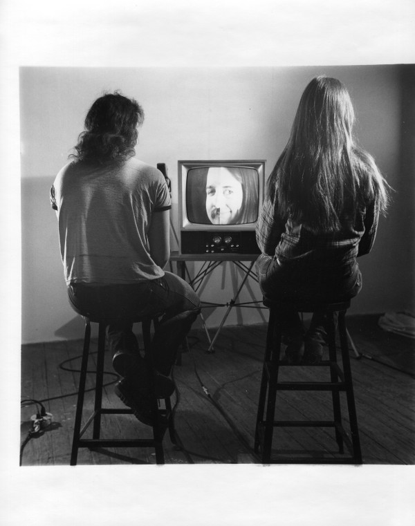 Laurie & Alan Split Faces by Alan Powell