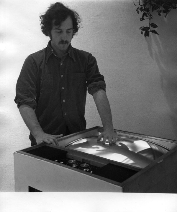 Alan video Feedback Everson Museum of Art 1975 by Alan Powell