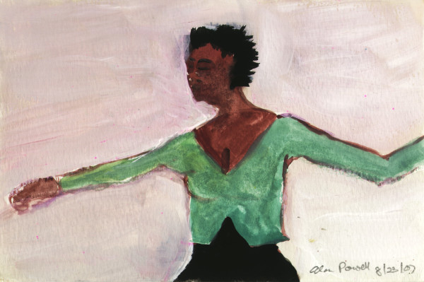 August 23, 2007; Dancer by Alan Powell