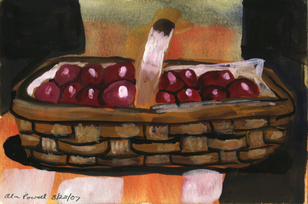 August 28, 2007; Apples by Alan Powell