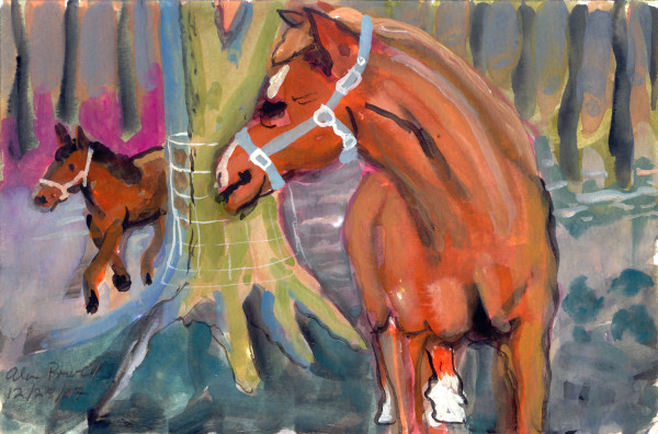 December 28, 2007 Horses by Alan Powell