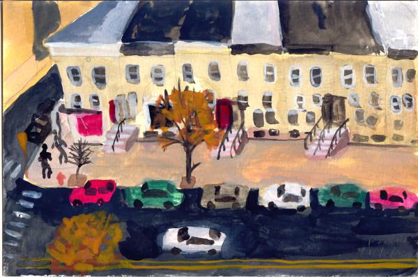 December 2, 2007; City Street by Alan Powell