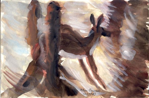 December 7, 2007; Deer in the Woods by Alan Powell
