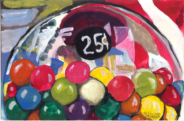 December 9, 2007; Gumballs by Alan Powell