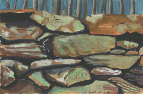 February 10, 2007 Rock Wall by Alan Powell