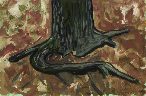 February 13, 2007  Tree Roots by Alan Powell