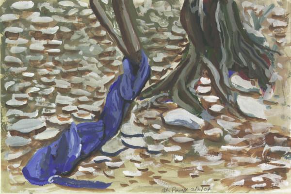February 2, 2007  Shirt Wrapped Around Tree by Alan Powell