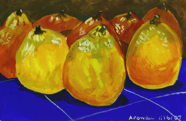 January 16, 2007  Oranges from Florida by Alan Powell