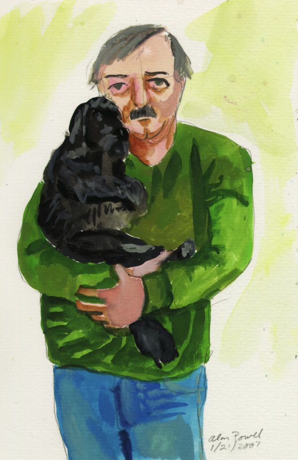 January 21, 2007   Self Portrait with BJ by Alan Powell